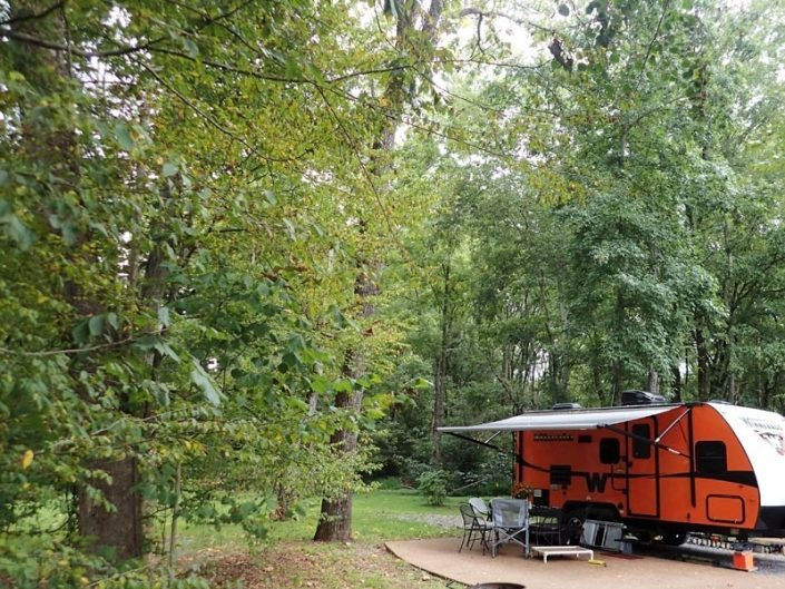 small-orange-camper