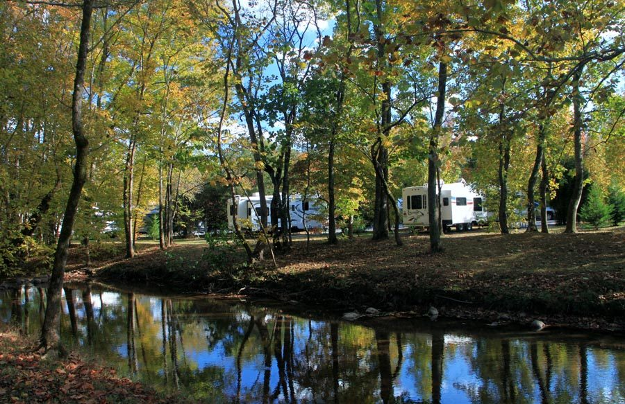 Walden Creek RV Site At Up The Creek RV Park